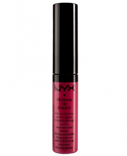 Gloss Nyx Professional Makeup Xtreme Shine Lip Cream - Strawberry Jam, 7 ml-big