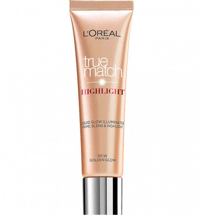 Iluminator L'Oreal True Match Highlight Liquid Golden Glow, 30 ml-big