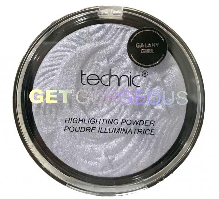 Iluminator Cu Particule Irizante Technic Get Gorgeous Highlighting Powder - Galaxy Girl, 12 gr-big