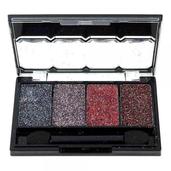 Kit Sclipici cu 4 Glittere Multifunctionale MEIS All Over Glitter - 04 Fantasy Colors-big