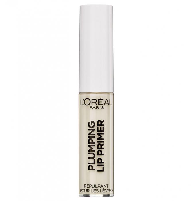 Top coat pentru marirea buzelor L'Oreal Paris Plumping Lip Primer, 5.9 ml-big
