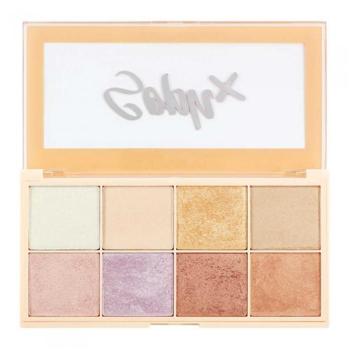 Paleta Iluminatoare Makeup Revolution Soph X Highlighter Palette, 8 nuante x 2g-big