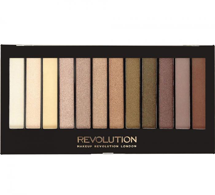 Paleta de farduri Makeup Revolution - Redemption - Iconic Dreams, 12 Nuante-big