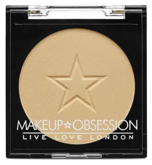 Pudra pentru Matifiere OBSESSION Makeup London, Luxury Powder, C111 Banana, 2 gr-big
