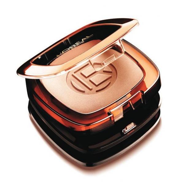 Pudra Bronzanta L'OREAL Glam Bronze Long Wearing Matte Bronzer - 09 Golden Cinnamon, 9 gr-big