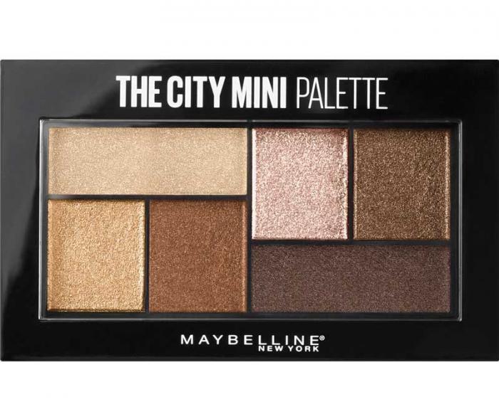 Paleta Farduri Maybelline The City Mini Palette - 400 Rooftop Bronzers-big