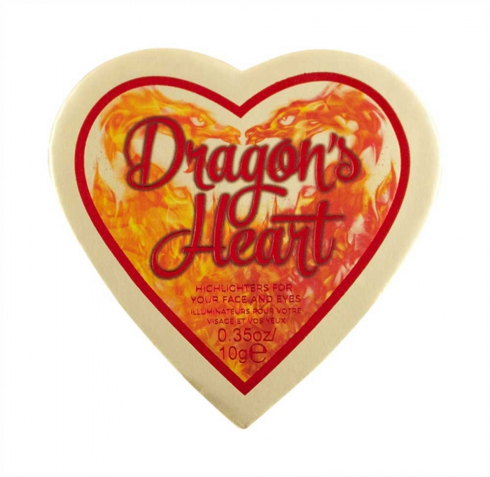 Paleta Iluminatoare I Heart Revolution Dragon's Heart Highlighter, 10 g-big