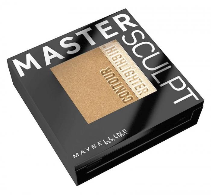 Paleta contouring Maybelline New York Face Studio Master Sculpt - 01 Light Medium, 9 g-big