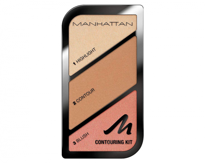 Paleta conturare si evidentiere Manhattan Contouring Kit, 002 Summer In Barbados-big