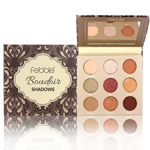 Paleta farduri Febble Boudoir Shadows Palette 9 Colors, 02-big