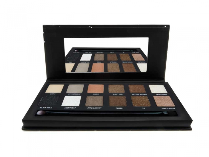 Paleta farduri W7 Spaced Out Galactic Glimmers Eye Contour Palette, 12 culori, 9.6g-big
