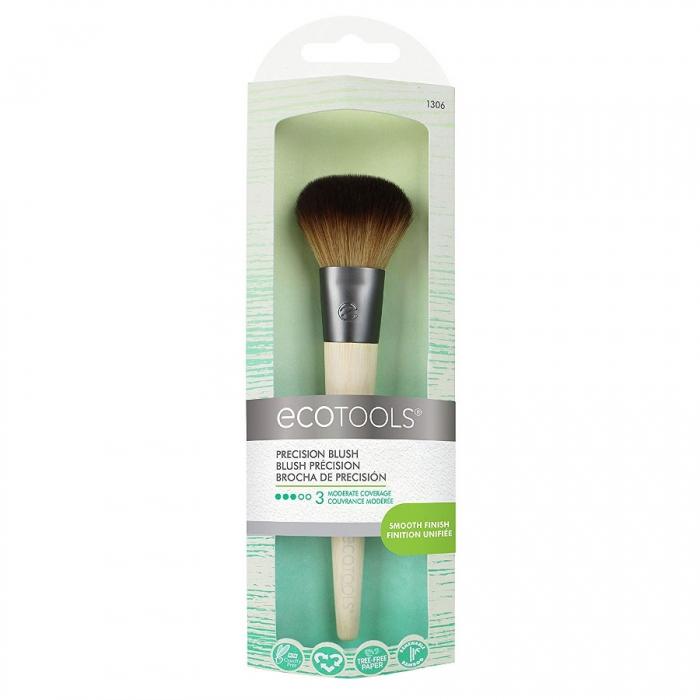Pensula machiaj Ecotools Precision Blush Brush pentru aplicarea fardului de obraz-big
