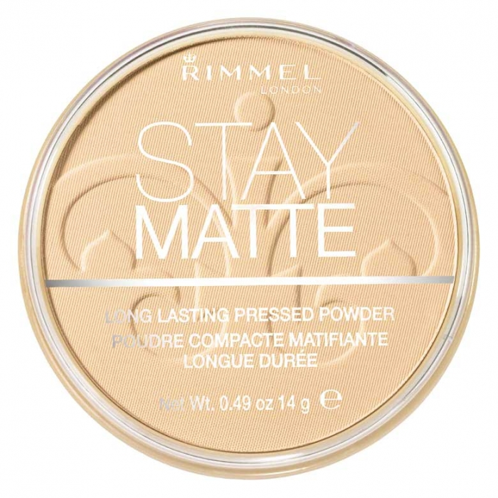 Pudra matifianta rezistenta la transfer RIMMEL Stay Matte, 011 Creamy Natural, 14g-big
