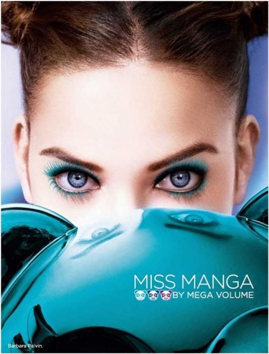 Rimel L'Oreal Paris Mega Volume Miss Manga Turquoise Mascara, Turcoaz, 8.5 ml-big