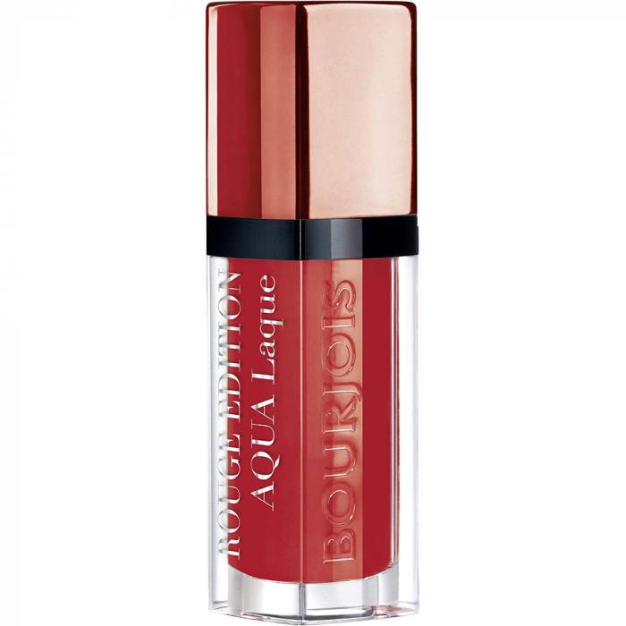 Ruj Bourjois Rouge Edition Aqua Laque, 05 Red my lips, 7.7 ml-big