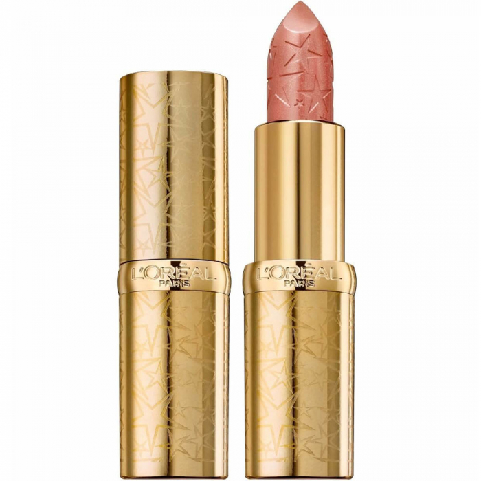 Ruj L'Oreal Color Riche Lipstick, Starlight in Paris Collection, 259 Nude After Party-big