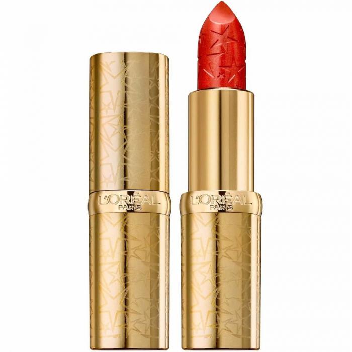 Ruj L'Oreal Color Riche Lipstick, Starlight in Paris Collection, 393 Paris Burning-big