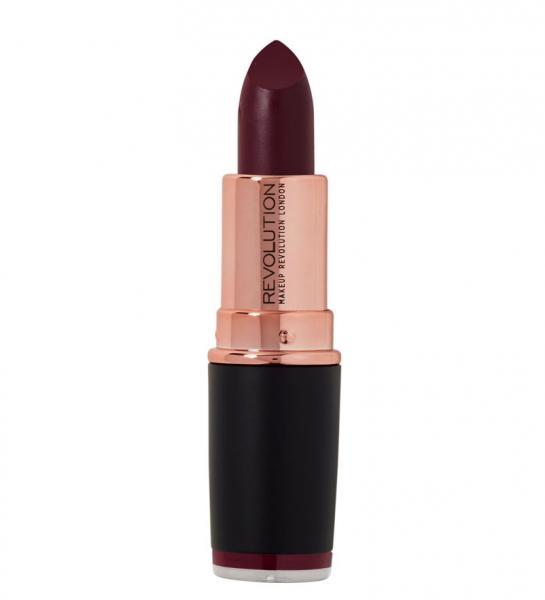 Ruj Makeup Revolution Iconic Matte Revolution Lipstick - Members Club, 3 gr-big