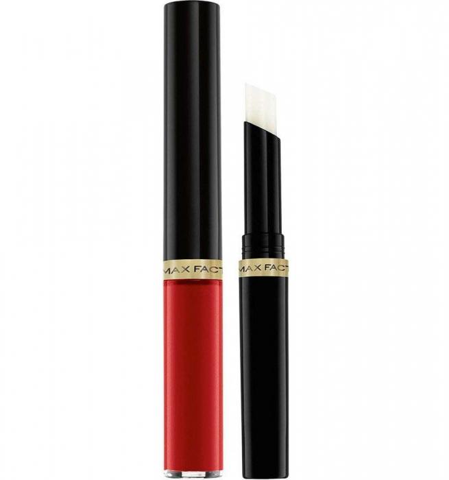 Ruj de buze rezistent la transfer Max Factor Lipfinity, 125 So Glamorous 2.3 ml + 1.9 g-big