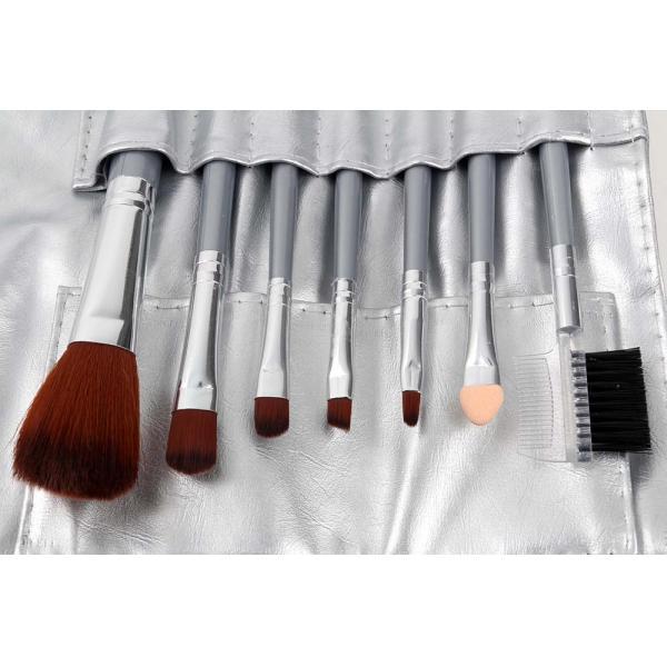 Set 7 Pensule Profesionale Luxury pentru Machiaj - Ice Flakes-big