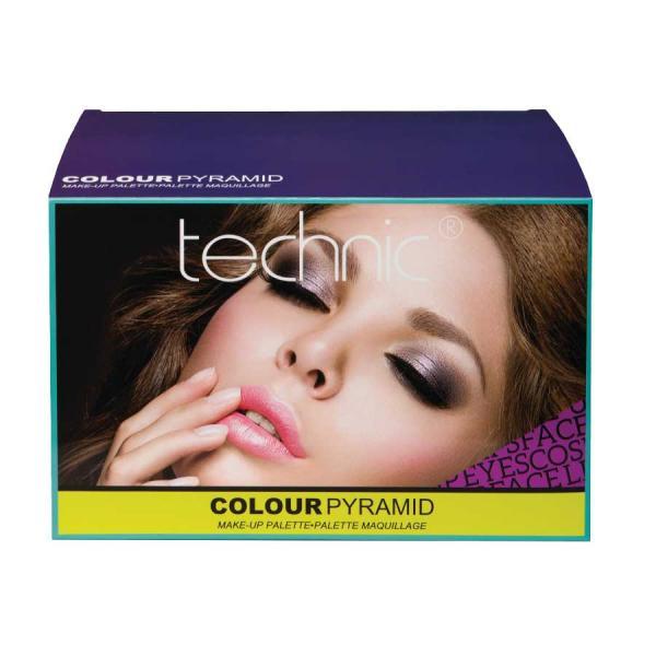 Trusa Profesionala de Machiaj Cadou TECHNIC Colour Pyramid Make-Up Palette Gift Set-big