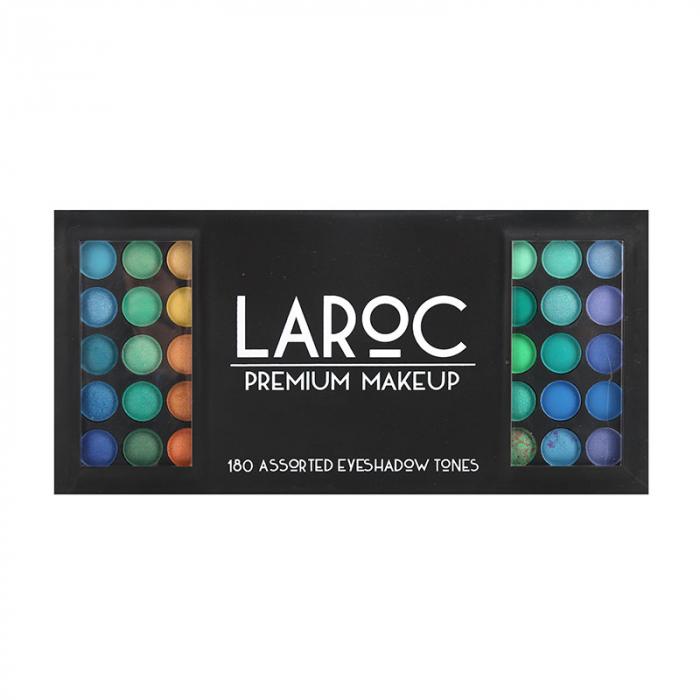 Trusa Profesionala de Farduri cu 180 Culori LAROC Eye Shadow Makeup Palette-big