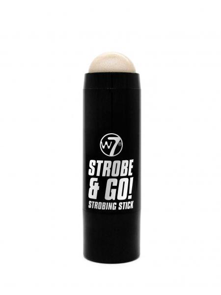 Baton Iluminator Argintiu W7 Strobe & Go - Moonlight, 5g-big