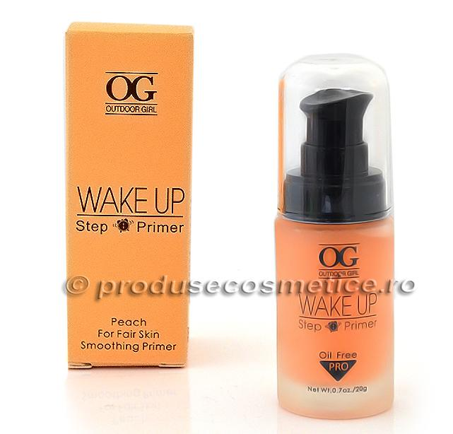 Baza De Machiaj Outdoor Girl Wake Up Step Primer - Peach-big