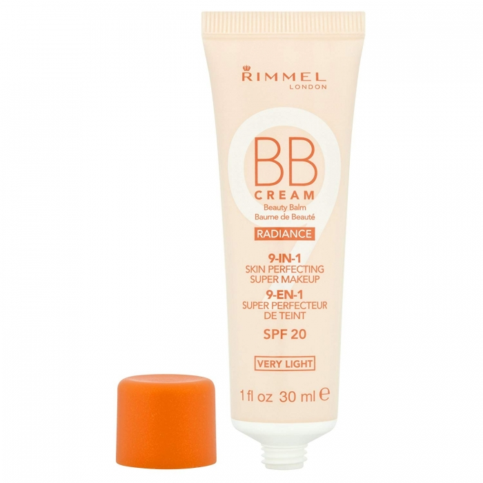 BB Cream Rimmel 9 In 1 Radiance - Very Light Skin, 30 ml-big