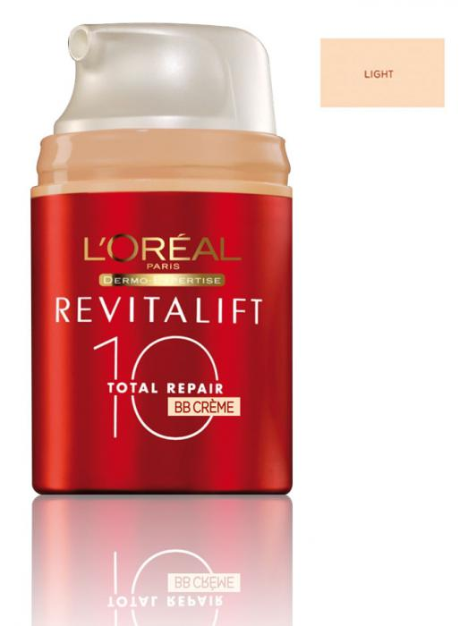 BB Cream Antirid L'OREAL REVITALIFT Total Repair 10 LIGHT - 50 ml-big