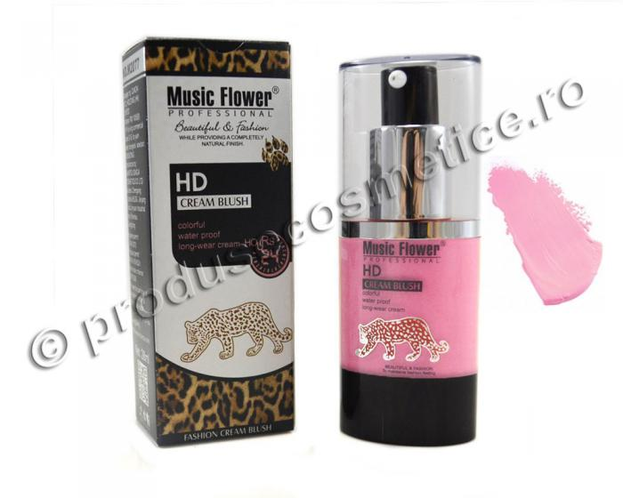 Blush Crema Waterproof Music Flower Professional HD -103 Water Lily-big