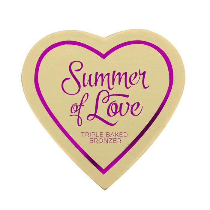 Blush Iluminator Makeup Revolution I Heart Makeup Blushing Hearts - Hot Summer Of Love, 10g-big