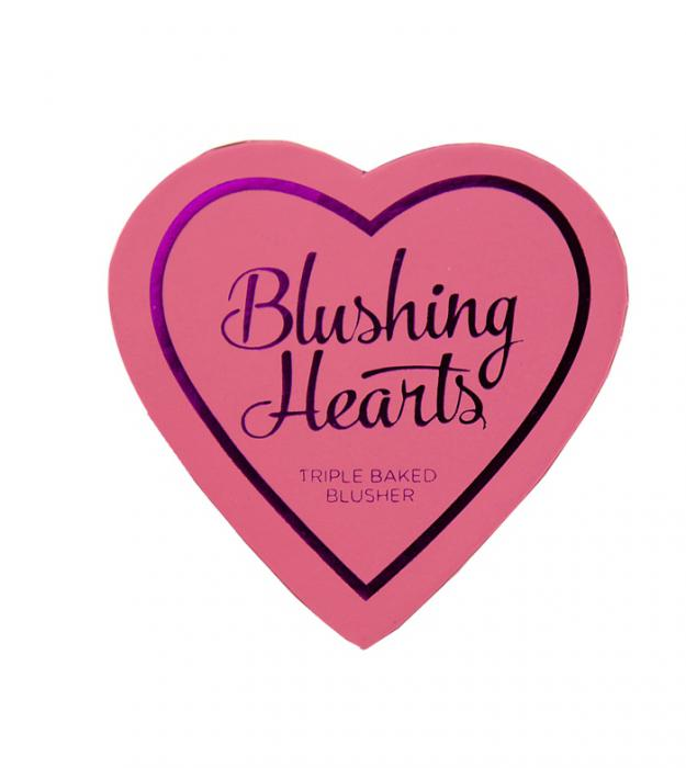 Blush Iluminator Makeup Revolution I Heart Makeup Blushing Hearts - Candy Queen of Hearts, 10g-big