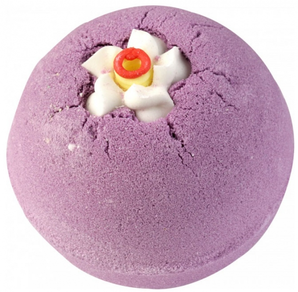 Bila efervescenta de baie Lavender Musk, Bomb Cosmetics, 160 gr-big