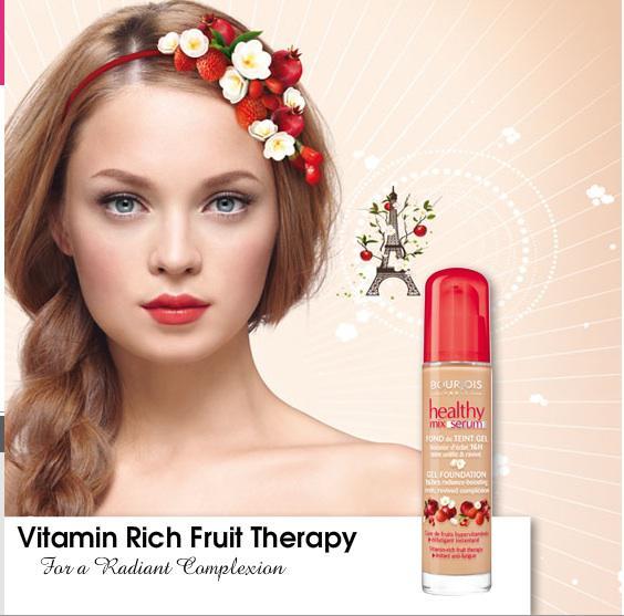 Fond De Ten Bourjois Healthy Mix Serum 16 Hr - 52 Vanilla-big