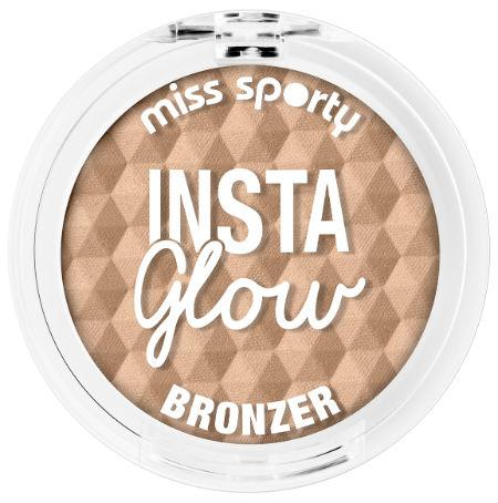 Fard De Obraz Miss Sporty InstaGlow Bronzer - 001 Sunkissed Blonde-big