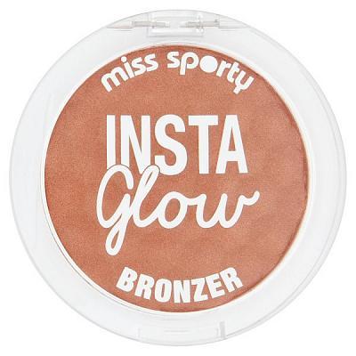 Fard De Obraz Miss Sporty InstaGlow Bronzer - 002 Sunny Brunette-big