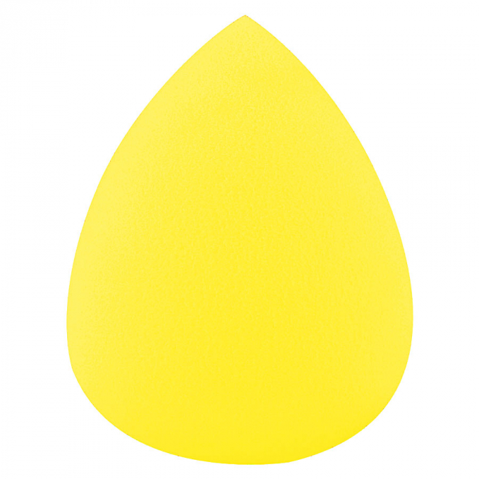 Burete Profesional Lacrima pentru Machiaj, Perfect Blending Teardrop, Lemon-big
