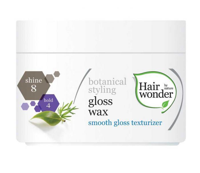 Ceara Pentru Coafare HennaPlus Hair Wonder Gloss Wax-100 ml-big