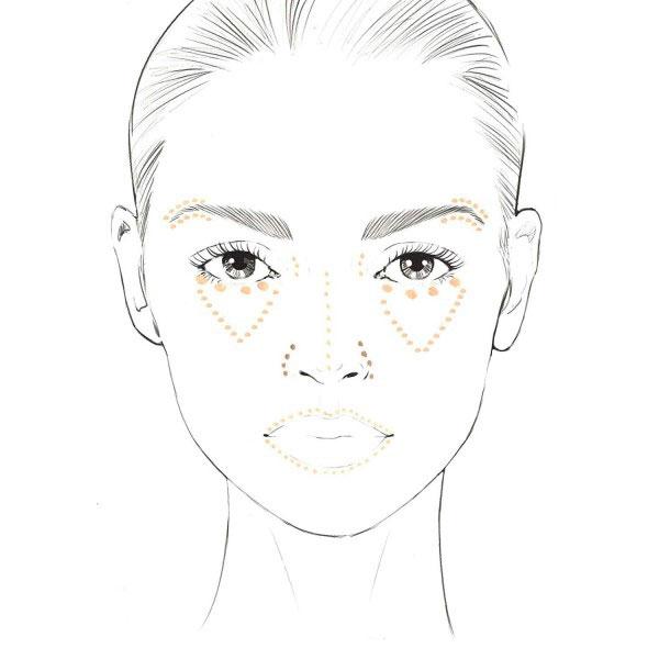 Anticearcan Corector Profesional INGRID Cosmetics Ideal Skin Concealer, Nuanta 10, 7 ml-big