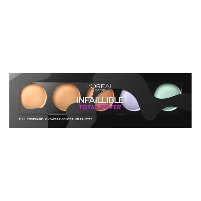 Paleta corectoare L'Oreal Paris Infaillible Total Cover, 10 g-big