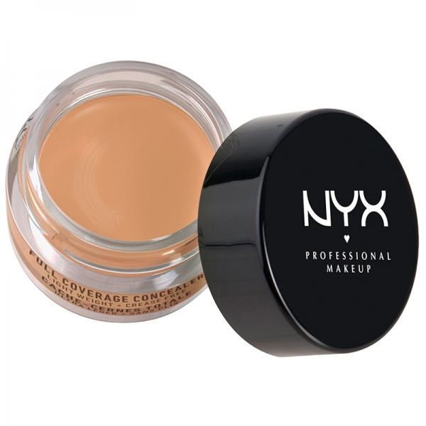 Corector Nyx Professional Makeup Full Coverage Concelear Jar - Fresh Beige, 7gr-big