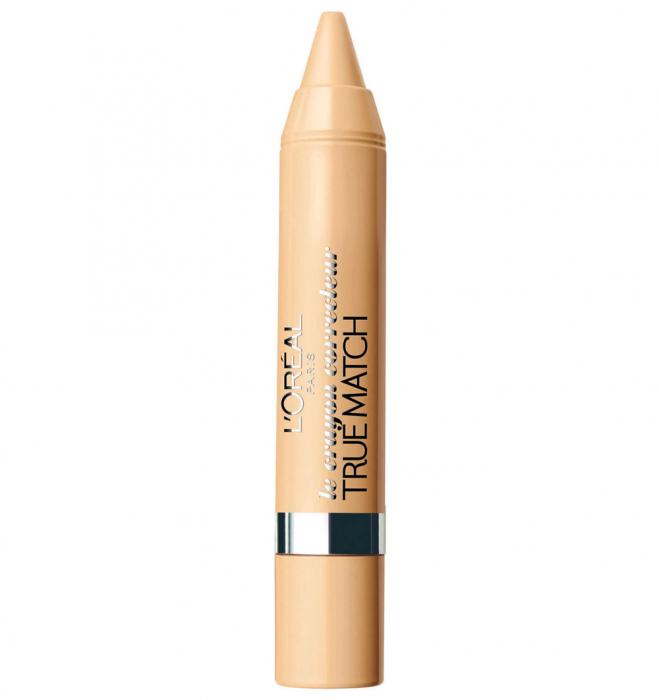 Creion Corector L'Oreal Paris Accord Parfait Crayon Concealer Pen, 30 Beige, 5 g-big