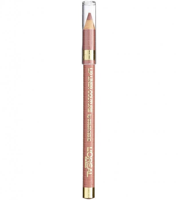 Creion de buze L'Oreal Paris Lip Liner Couture by Color Riche, 630 Beige A Nude-big