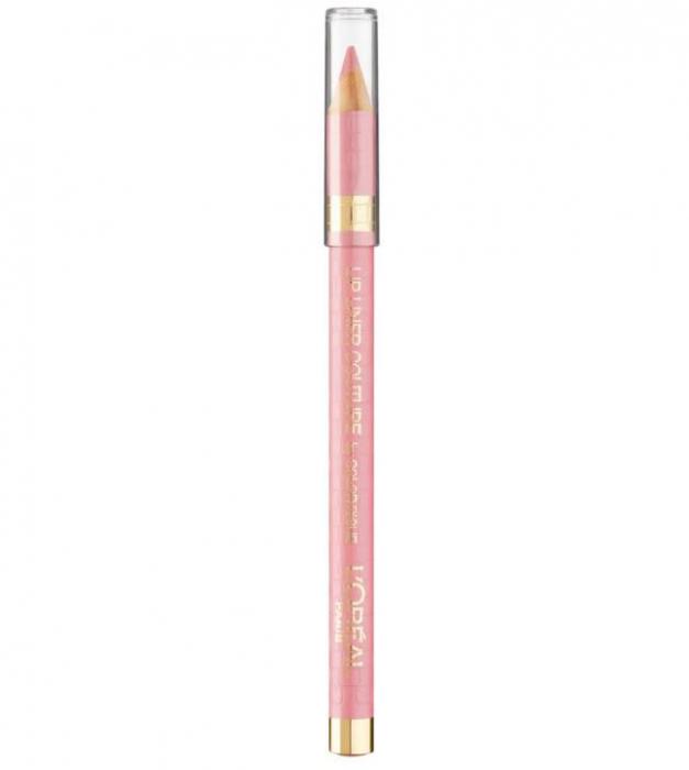 Creion de buze L'Oreal Paris Lip Liner Couture by Color Riche, 303 Rose Tendre-big