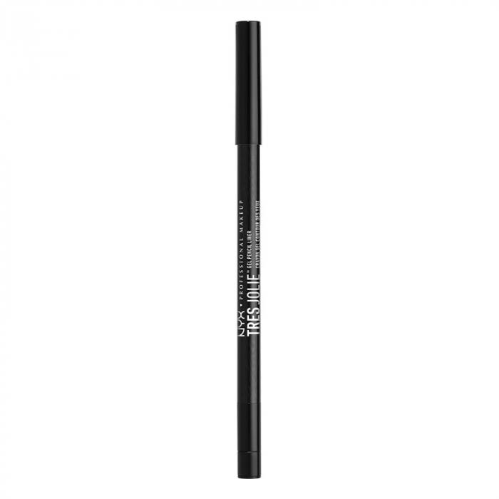 Creion De Ochi NYX Professional Makeup Tres Jolie Gel Pencil Liner, Pitch Black-big