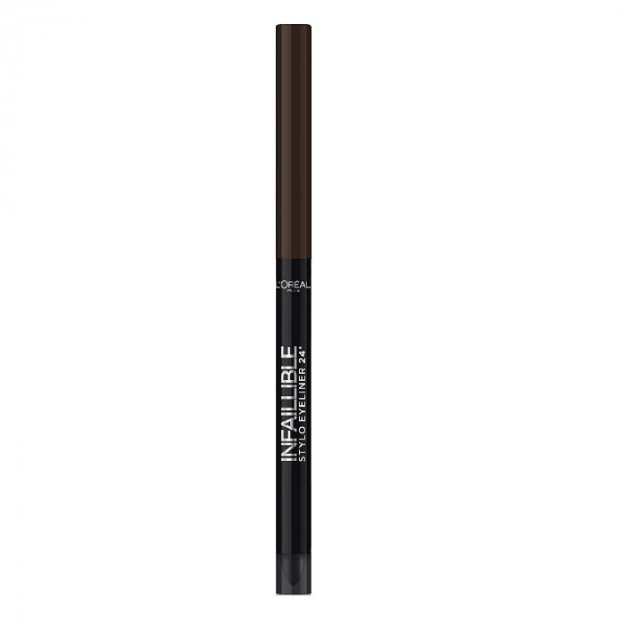 Creion de ochi rezistent la transfer L'Oreal Paris Infaillible Stylo 24h, 300 Chocolate addiction-big