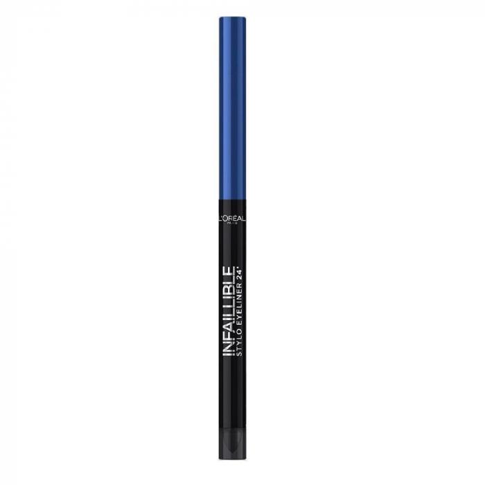 Creion de ochi rezistent la transfer L'Oreal Paris Infaillible Stylo 24h, 314 Rebel blue-big