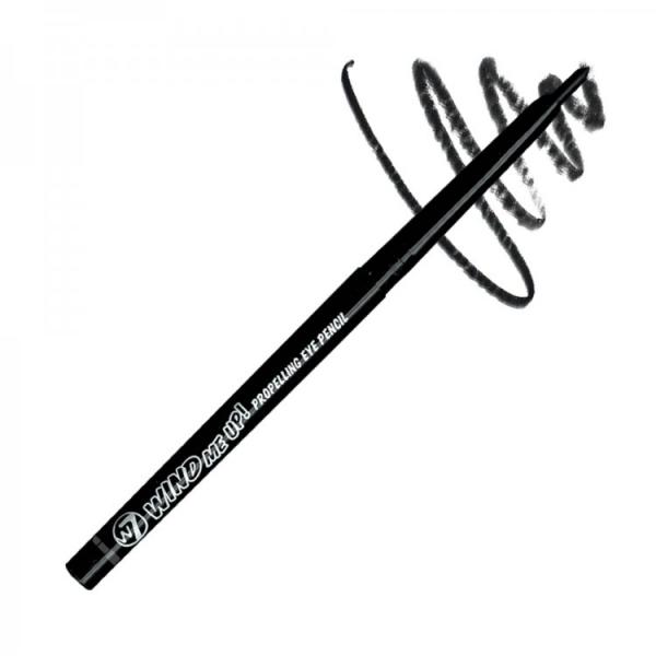 Creion De Ochi retractabil W7 Wind Me Up! - Black-big