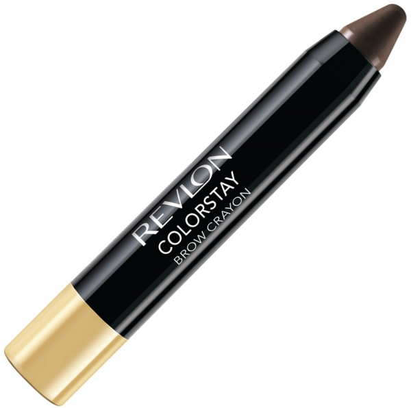 Creion Pentru Conturarea Sprancenelor Revlon ColorStay Brow Crayon - 315 Dark Brown, 2.6 gr-big